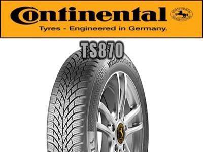 CONTINENTAL WinterContact TS 870<br>195/65R15 95T