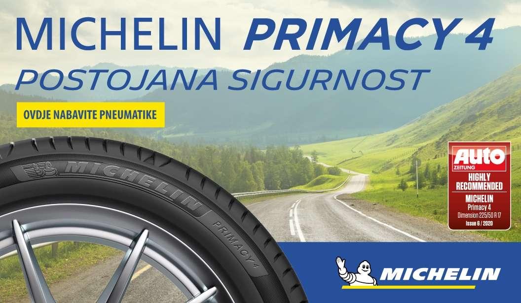 Proizvedena najnovija serija Michelinovih provjerenih modela ljetnih guma