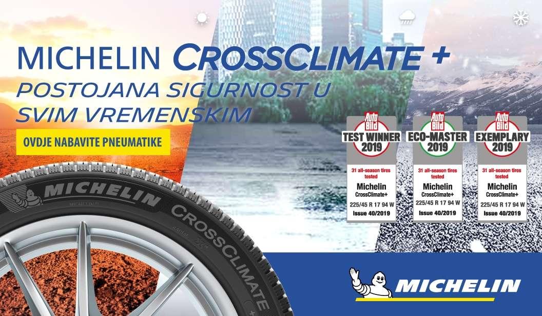 Michelinove cjelogodišnje gume pobijedile na najnovijem testiranju Auto Bilda
